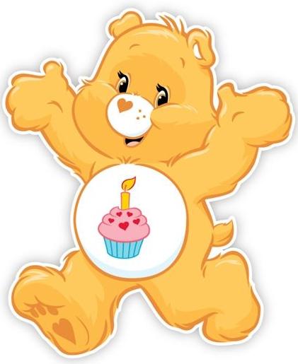 Care Bears Birthday Cake Designs