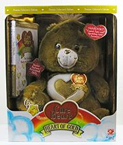 Heart of Gold Bear Golden