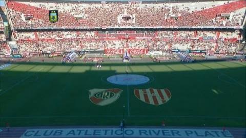 Fútbol en vivo. River - Unión. Fecha 4. Torneo de Primera División. FPT.