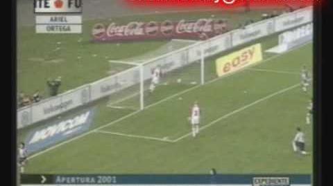 Goles del Burrito Ariel Ortega en River Plate Parte 3-4