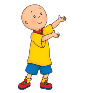 Caillou's real life appearance
