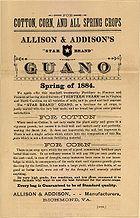 Guano advertisement 1884