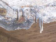 Mostar interchange concrete stalactites