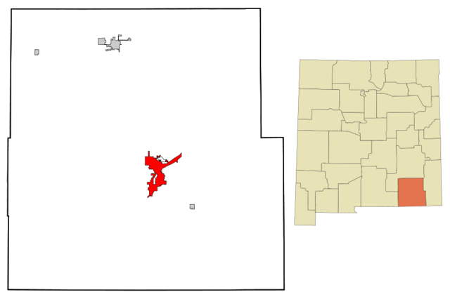 File:Eddy County New Mexico Incorporated and Unincorporated areas Carlsbad Highlighted svg.png