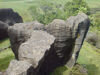 Limestone Formation In Waitomo