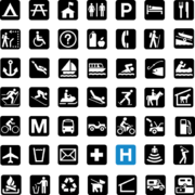 National Park Service sample pictographs svg