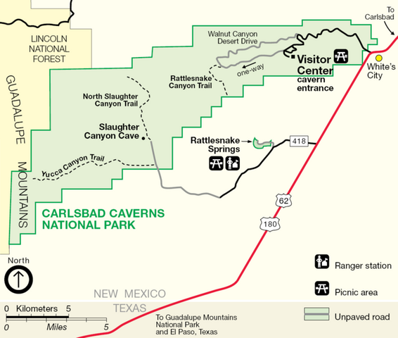 File:Map of Carlsbad Caverns National Park.png