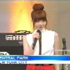 Carly on ABC's <i>Good Morning America</i>.
