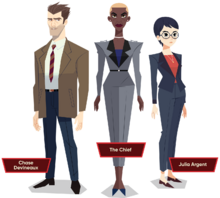 V.I.L.E. agents