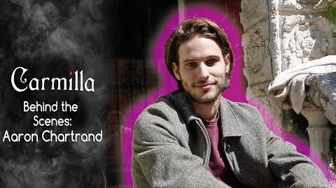 Carmilla Interview with Aaron Chartrand