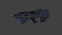 Assault rifle render
