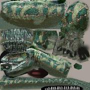 Dilophosaurus skin