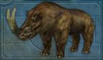 Carnivores Ice Age Brontotherium