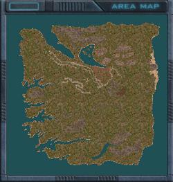 Fort Ciskin map