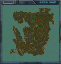 Archaeology outpost map
