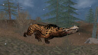 Andrewsarchus howling