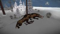 Andrewsarchus killing