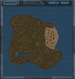 The Jungles of Gravitsappa map