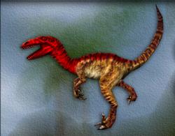 Carnivores Velociraptor target zone