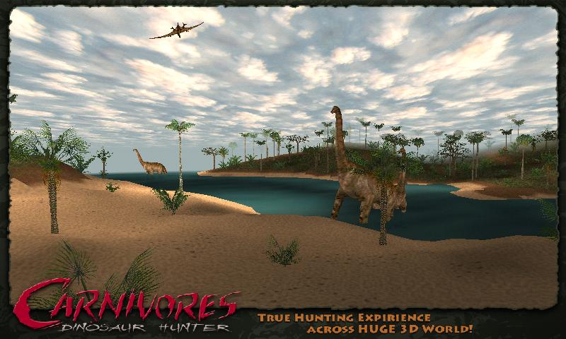 carnivores dino hunt