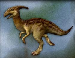 Carnivores Parasaurolophus