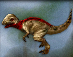 Carnivores Pachycephalosaurus target zone