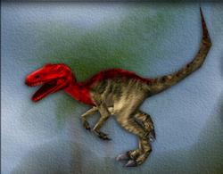 Carnivores Allosaurus target zone