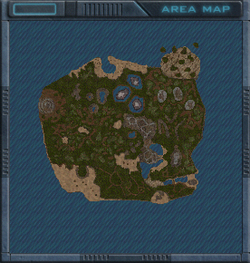 Basmachee Rocks map