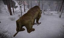 Brontotherium killing the player