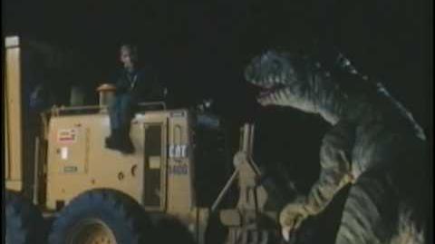 Carnosaur (1993) Clip - Deinonychus Attacks
