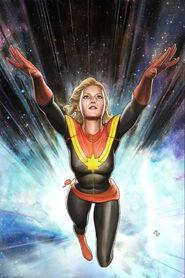 Captain Marvel Vol 7 1 Granov Variant Textless