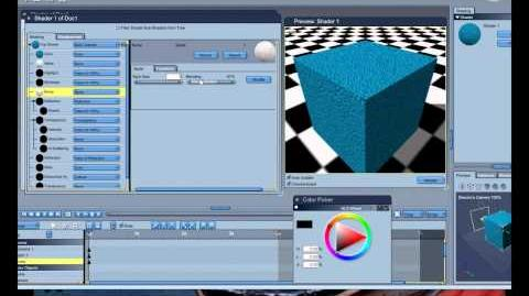Textures and Shading in Carrara Tutorial