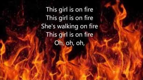 Girl On Fire by Alicia Keys