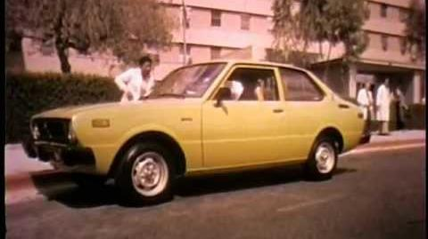 1977 Toyota Corolla Commercial