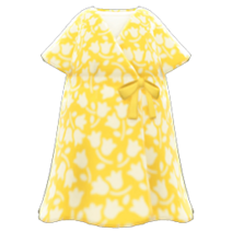 Casual Chic Dress (Yellow) NH Icon
