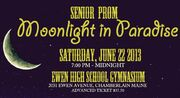 2013 Prom Tickets