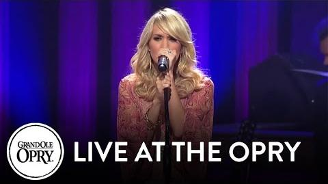 "Carrie Underwood - ""I Told You So"" Live at the Grand Ole Opry Opry"