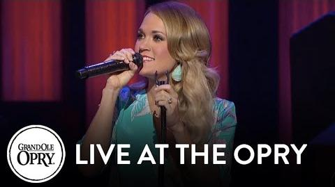 "Carrie Underwood - ""Keep Us Safe"" Live at the Grand Ole Opry Opry"