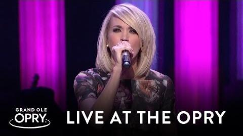 "Carrie Underwood - ""Church Bells"" Live at the Grand Ole Opry Opry"