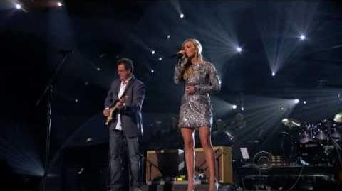 "Carrie Underwood - ""How Great Thou Art"" w Vince Gill on ABC's 'Girls' Night Out' Special '11 D"