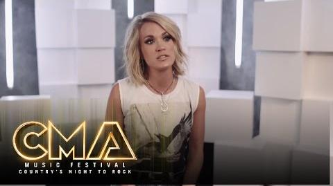 "Carrie Underwood ""Church Bells"" Sneak Peek CMA Music Festival Country's Night to Rock 2016 CMA"