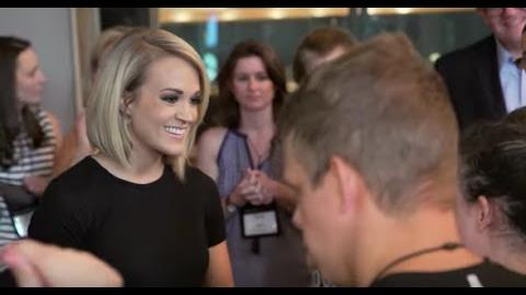 2016 ACM Lifting Lives Music Camp Ocean Way Studios with Carrie Underwood and Ross Copperman