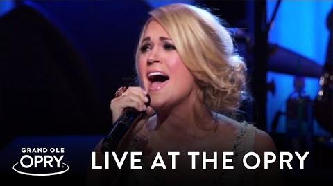 "Carrie Underwood - ""Little Toy Guns"" Live at the Grand Ole Opry Opry"
