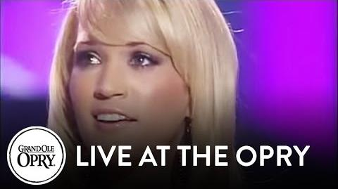 "Carrie Underwood - ""I Know You Won't"" Live at the Grand Ole Opry Opry"