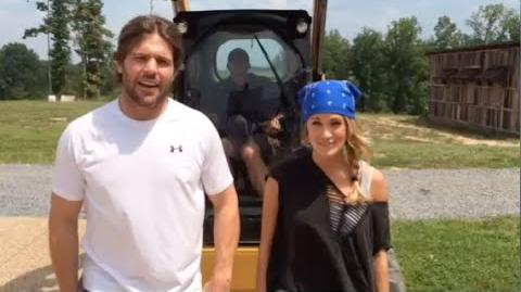 Carrie Underwood and Mike Fisher ALS Ice Bucket Challenge