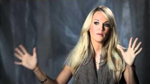 "Carrie Underwood Talks About ""Who Are You"""