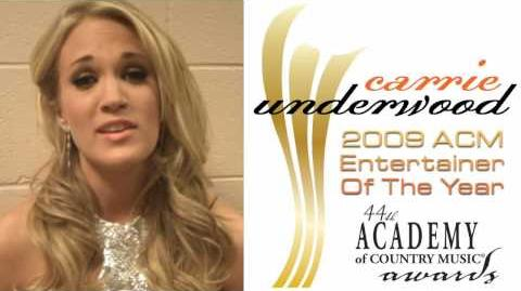 Carrie Underwood Thanks Her Fans from The ACM Awards