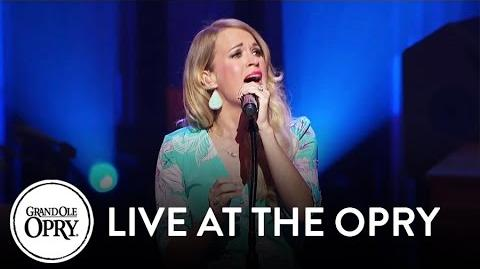 "Carrie Underwood - ""Wine After Whiskey"" Live at the Grand Ole Opry Opry"