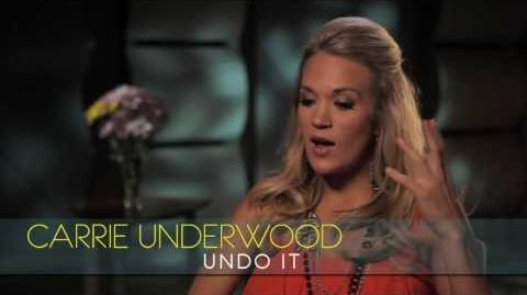 "Carrie Underwood - Interview - ""Undo It"""