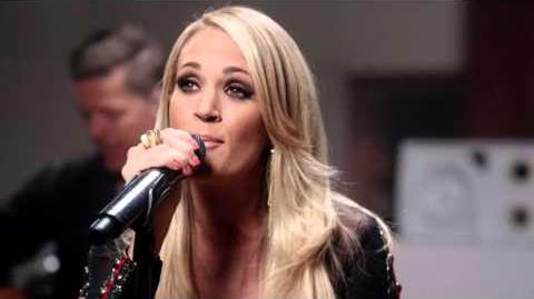 "Carrie Underwood + Target performs ""Little Girl Don't Grow Up Too Fast"""